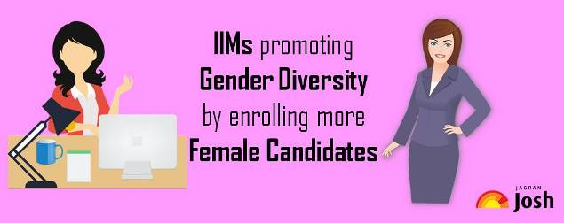 IIMs encouraging gender diversity by enrolling more female candidates