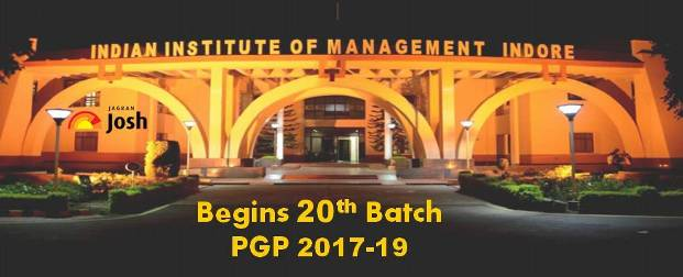 IIM Indore welcomes 20th Batch of PGP (2017-19 Batch)
