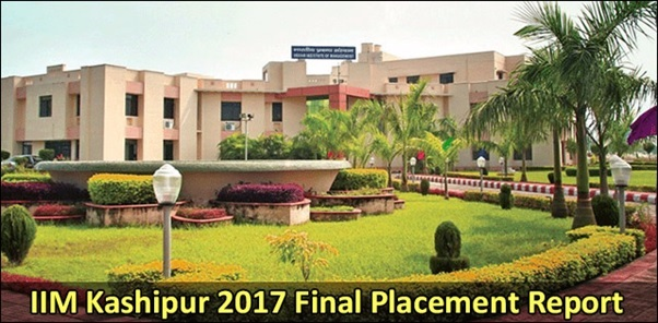 IIM Kashipur 2017 Final Placement Report