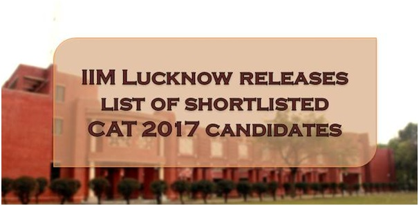 CAT 2017 Result IIM Lucknow