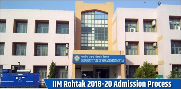 IIM Rohtak 2018-20 Admission Process