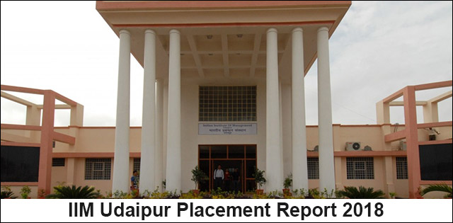 IIM Udaipur Final Placement Report 2018