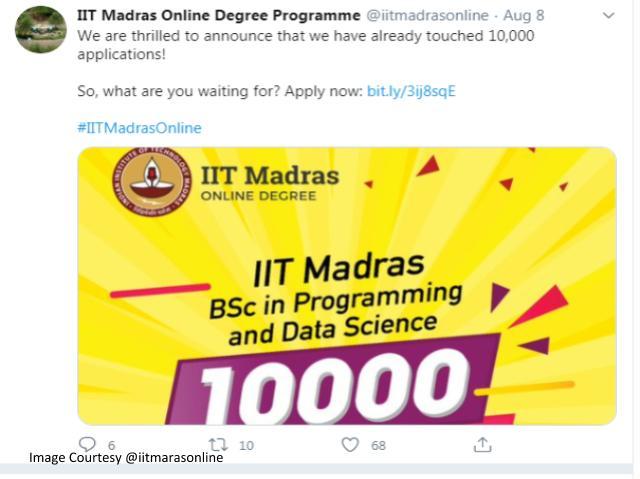 IIT Madras Online Applications