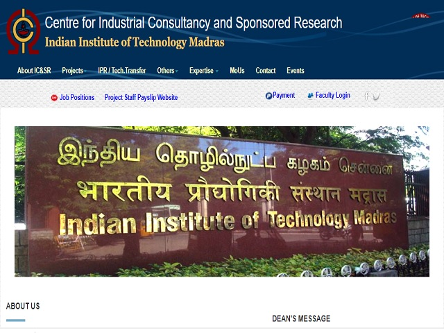 Indian Institute of Technology (IIT) Madras Research Assistant Post 2020