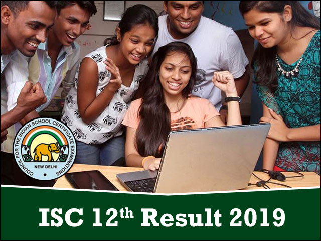 Check ISC Result 2019, CISCE ISC 12th Results @ www cisce org