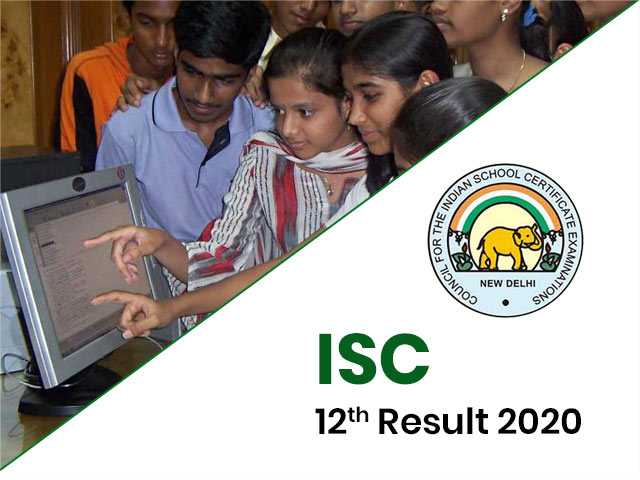 ISC Board (12th) Result 2020