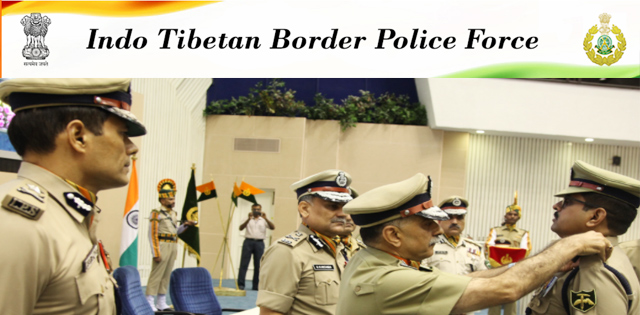 Indo-Tibetan Border Police (ITBP) Recruitment 2018