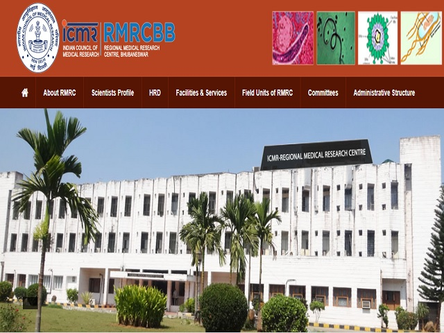ICMR-RMRC Bhubaneswar) Project Technician, Staff Nurse and Other Posts 2019