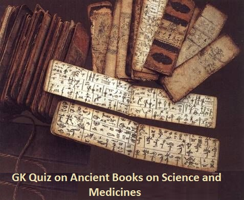 Ancient Books on Science and medicines