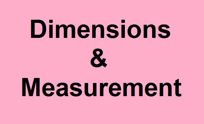 Important Questions and Preparation Tips - Dimensions and Measurement