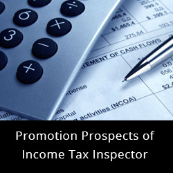 Promotion Prospects of Income Tax Inspector