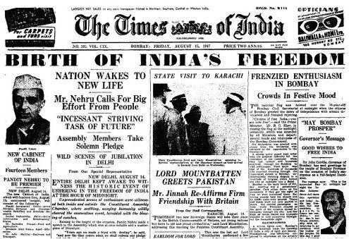 How India got Independence at 12 in the night