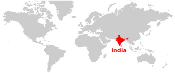 List of indias neighbouring countries with map jagranjosh gumiabroncs Image collections