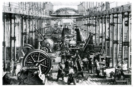 Why was Industrial Revolution started in Britain?