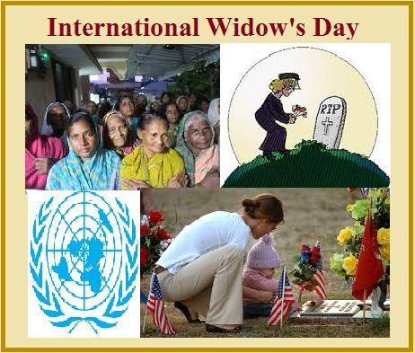International Widow's Day 2019: Current Scenario and History