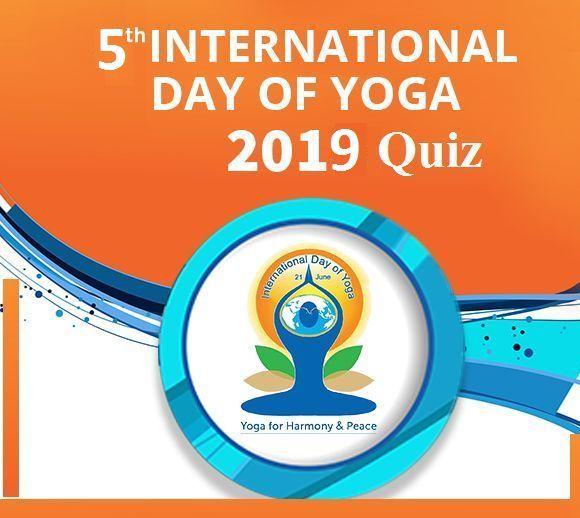 GK Quiz on 5th International Yoga Day 2019