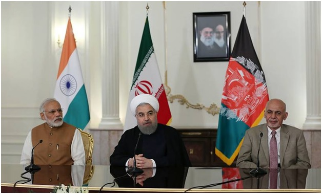 Iran India Afghanistan Sign Transit
