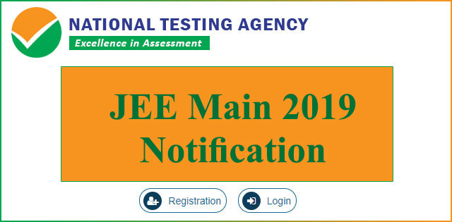 JEE Main 2019 notification released by NTA at nta.ac.in