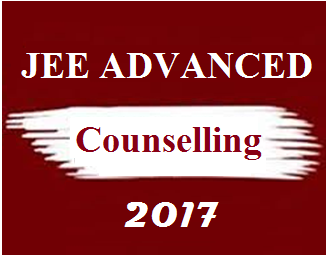 JEE Advanced 2017 Counselling