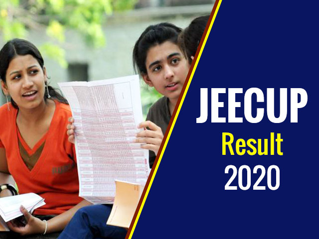 UP Polytechnic JEECUP Result 2020