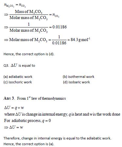 JEE MAIN CHEMISTRY 3