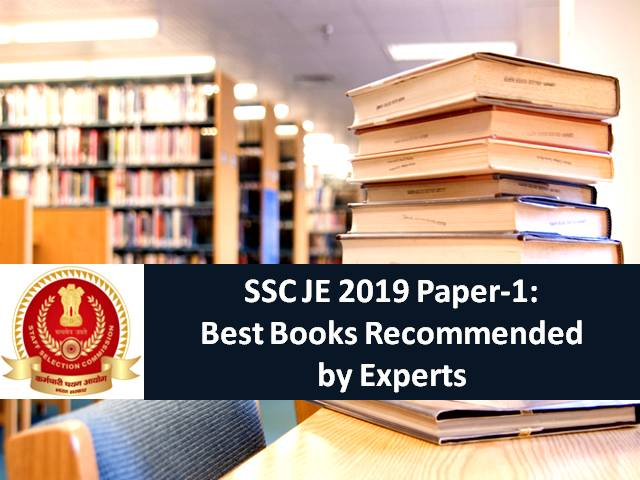 SSC JE 2019 Paper-1: Best Books Recommended by Experts