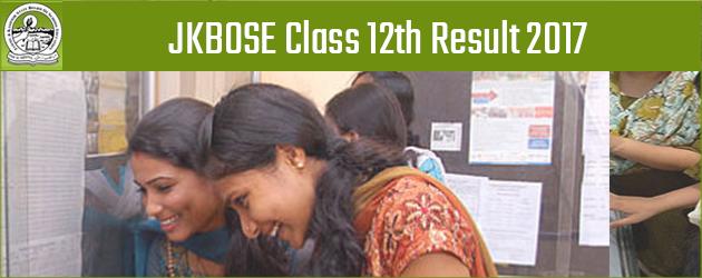 JKBOSE Class 12th Annual Regular Exam 2017 Results (Kargil Division) Declared