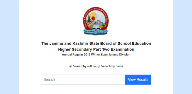 LIVE NOW: JKBOSE Class 12th Annual Regular Winter Zone
