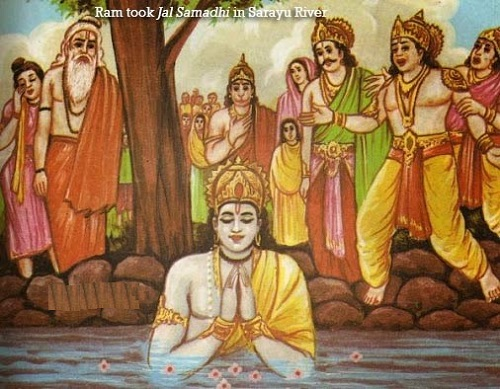 Jal Samadhi of Ram