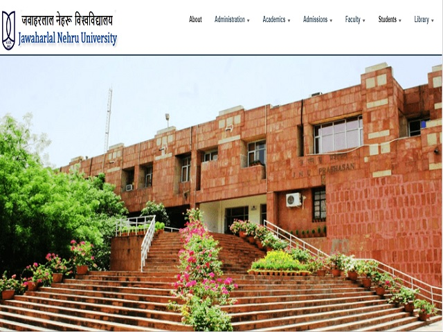 Jawaharlal Nehru University Section Officer and Senior Assistant Posts 2019