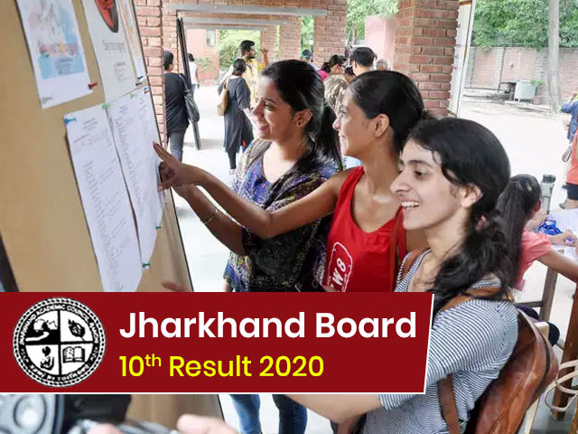 Jharkhand Board Matric (10th) Result 2020