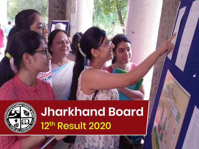 Jharkhand Board Intermediate (12th) Result 2020
