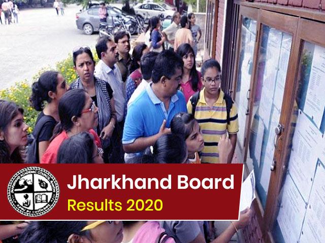 Jharkhand Board Result 2020