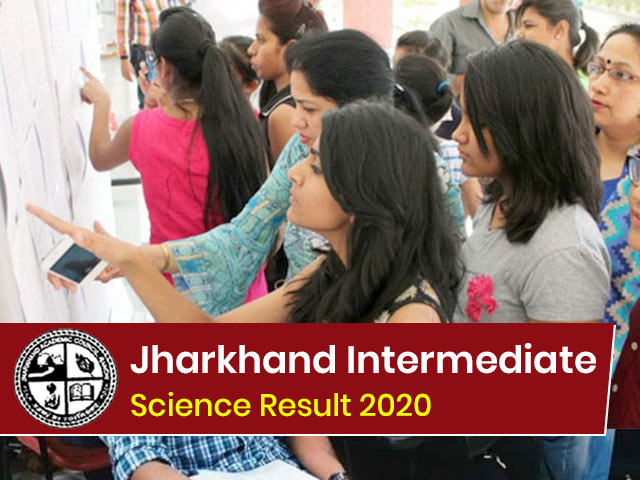 Jharkhand Board Intermediate (12th) Science Result 2020