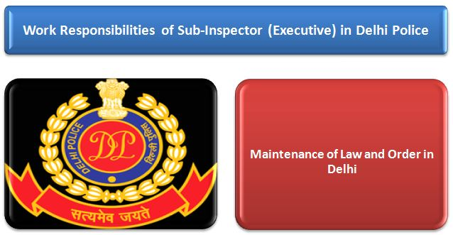 Job Profile of Sub Inspector in Delhi police