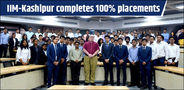 IIM Kashipur completes 100% Final placement