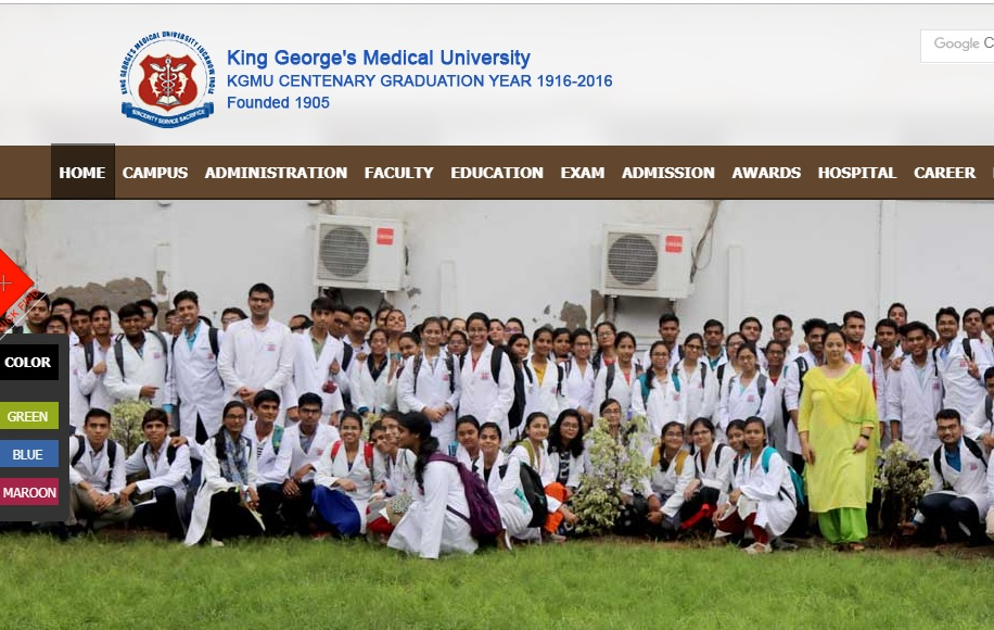 King Georges Medical University (KGMU) Junior Nurse Posts 2019