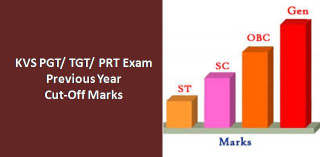 kendriya vidyalaya kvs pgt tgt prt exam previous year cut off marks