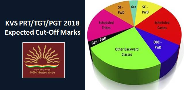 KVS PRT/TGT/PGT 2018 Expected Cut-Off Marks