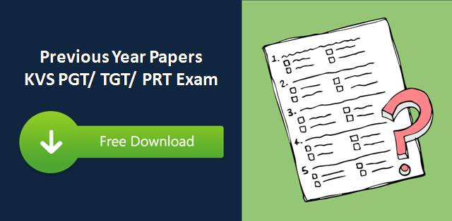 kvs pgt tgt prt previous year papers free download