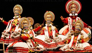 Image result for classical dances of india kathakali