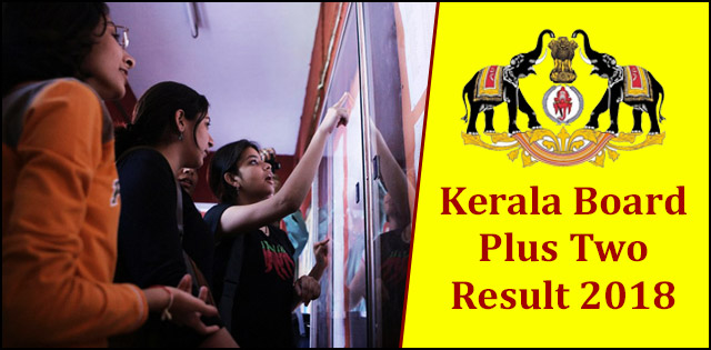 Kerala DHSE Plus 2 Results 2018