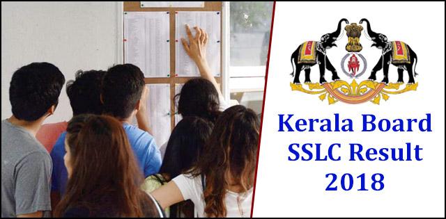 Kerala SSLC Result 2018 Date