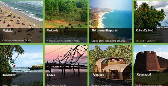 Kerala Famous tourists places