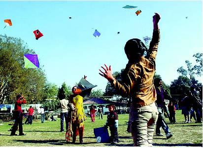 Kite Flying Festival at Delhi