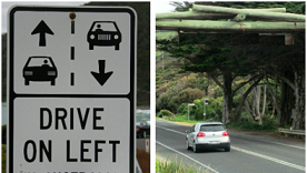 Left Handed Traffic Arrangement