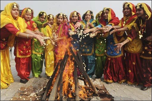 How Lohri festival is celebrated