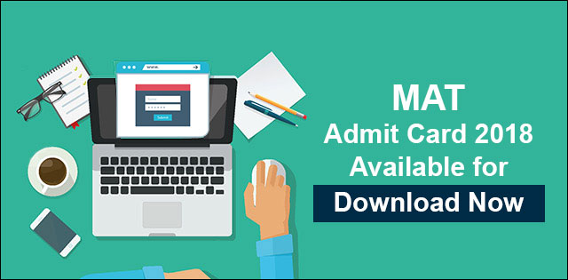 MAT 2018 Admit Card Available for Download