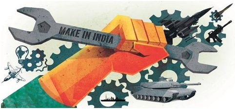MAKE IN india defence
