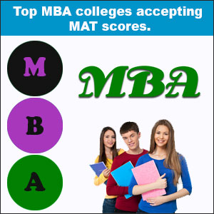 Top MBA colleges accepting MAT scores